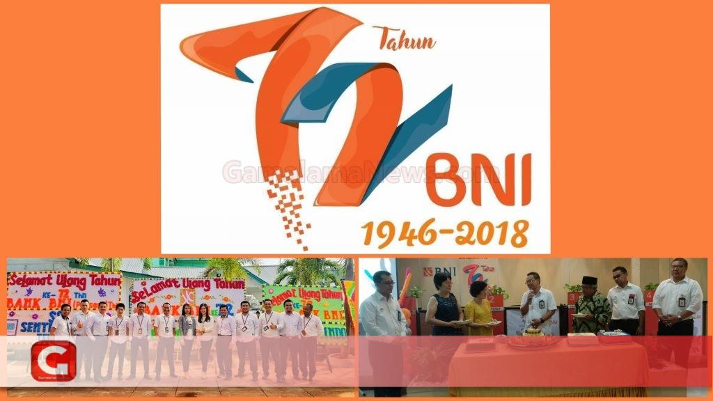 Peringati Hut BNI ke 72, BNI Cabang Ternate Gelar Pemotongan Tumpeng | Gamalamanews.com